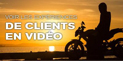 Voir les expériences de clients en vidéo