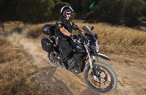 Zero Motorcycles electric police motorcycle off road