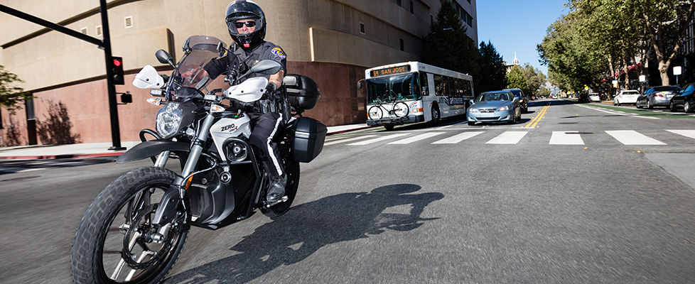 Zero dsrp Police Electric Motorcycle