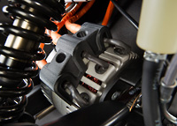 Zero DS Electric Motorcycle Motor