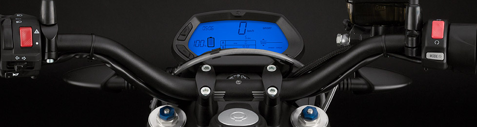 Zero DS Electric Motorcycle Dashboard