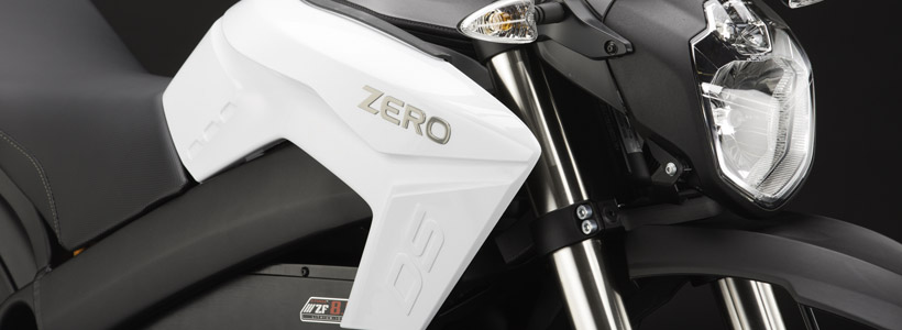 Bovenkant van 2014 Zero S