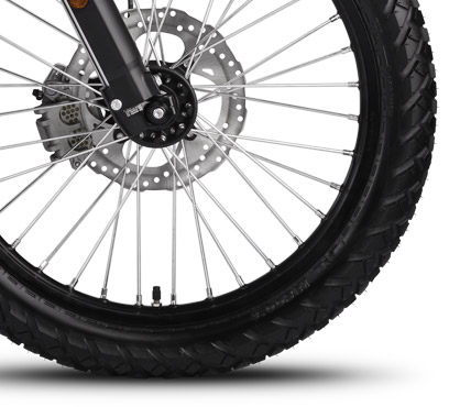 Zero FX Electric Motorcycle Wheels