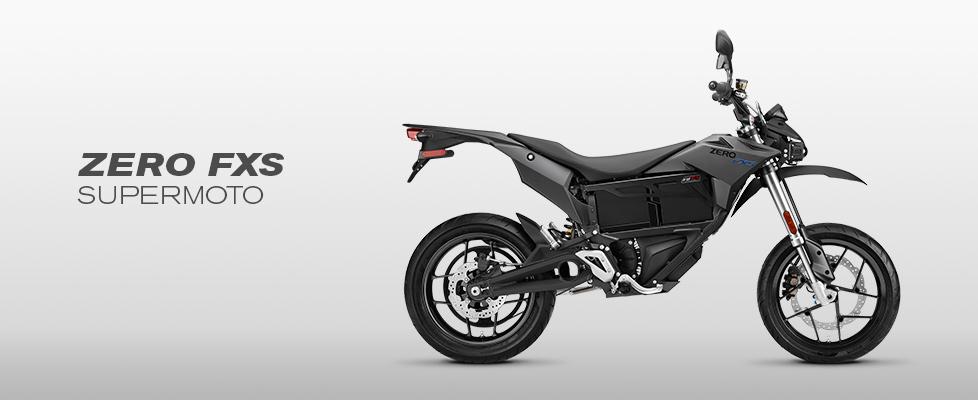2016 Zero FXS Electric Motorcycle