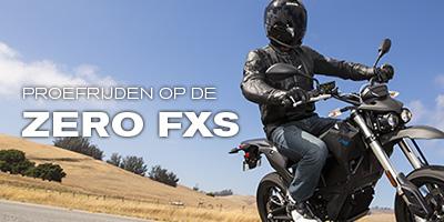 Proefrijden op de Zero FXS