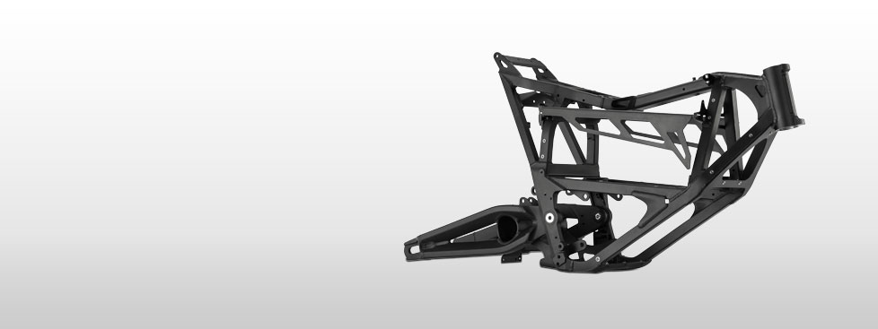 Zero FXS Electric Motorcycle Frame