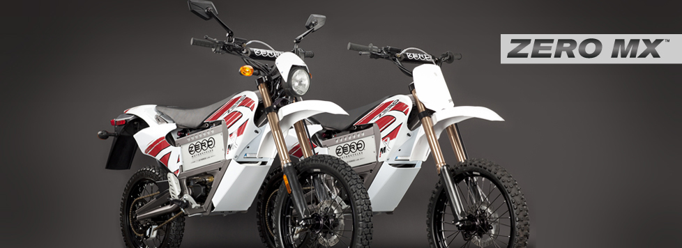 2011 Zero MX Electric Motorcycle