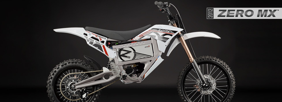 2012 Zero MX Electric Motorcycle