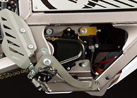 Zero MX Electric Motorcycle Motor