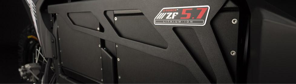 La batterie de la Zero MX