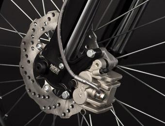 Die Räder der Zero MX