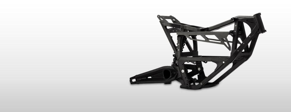 Le chassis de la Zero MX