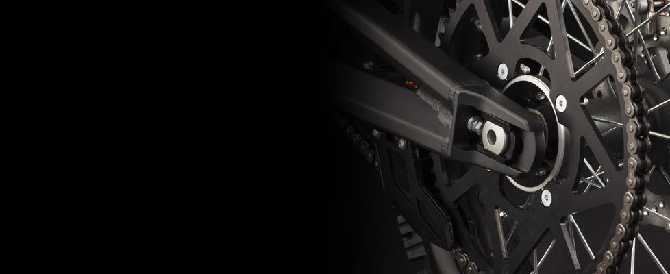Zero MX Electric Motorcycle Drivetrain