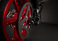 Zero S Electric Motorcycle Drivetrain