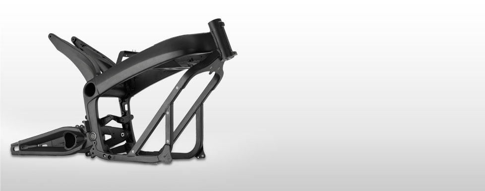 Le chassis de la Zero S