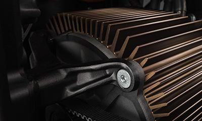 Zero S Electric Motorcycle Motor