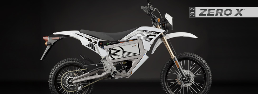 2012 Zero X Electric Motorcycle