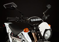 Zero X Electric Motorcycle front view