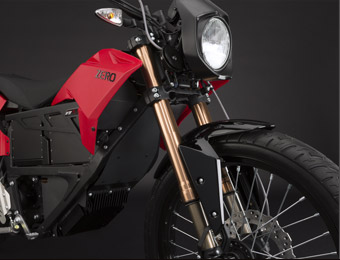 Zero XU Electric Motorcycle Front Fork