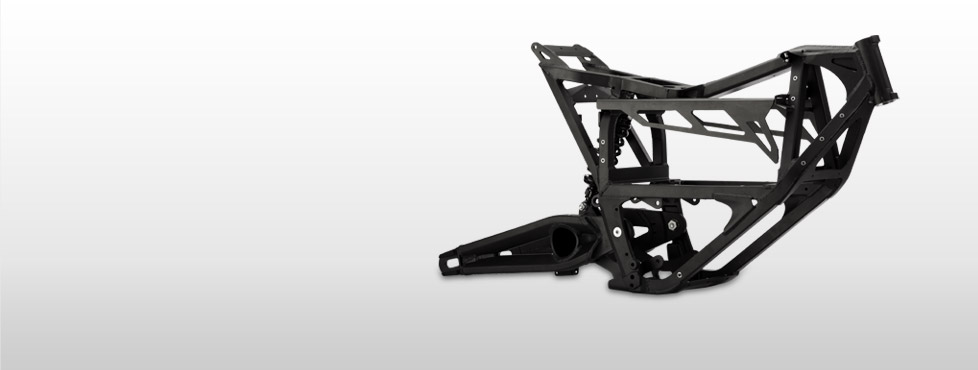 Zero XU Electric Motorcycle Frame
